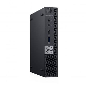 Dell OPTIPLEX 7070 MFF I7/256GB /8GB/ DOS/WIFI/3Y-OS