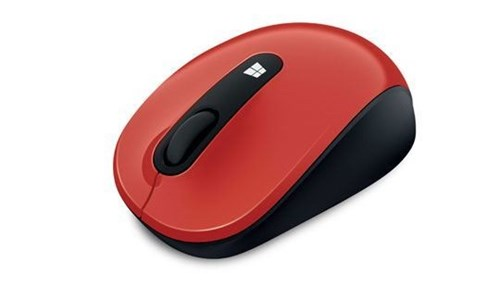 Microsoft Sculpt Mobile Mouse-Flame red