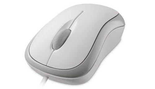 Microsoft Basic Optical Mouse Mac/Win USB-White