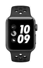 Apple Watch Nike Series 3 GPS, 38mm - black