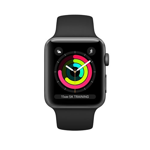 Apple Watch Series 3 GPS, 42mm- black